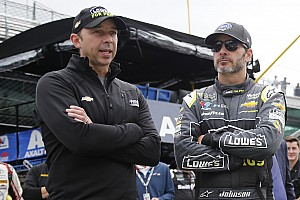 Jimmie Johnson y Chad Knaus se separan
