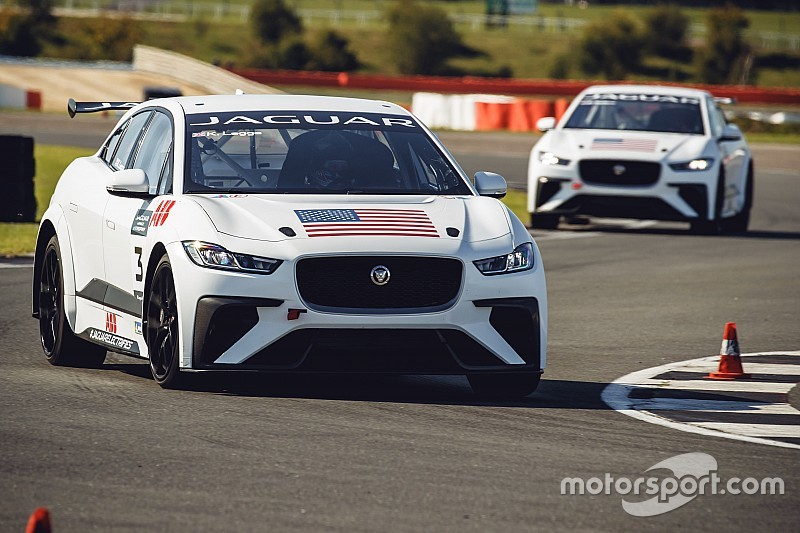 Jaguar eTrophy holds first test, names three more drivers