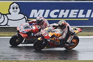 """MotoGP Noticias de última hora Márquez: """"Una batalla increíble entre dos pilotos que se juegan el título"""