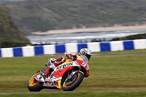MotoGP Репортаж з практики Гран Прі Австралії: Маркес виграв третю вологу практику