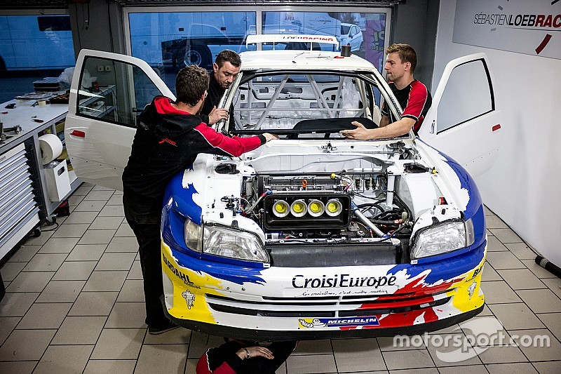 Loeb's race against time to rebuild the Peugeot 306 Maxi