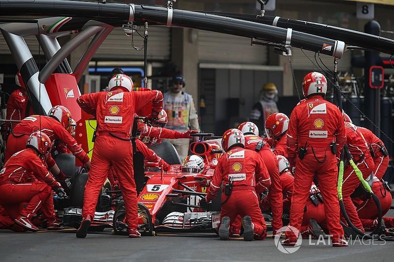 Nincs dobogón a Ferrari a legjobb bokszkiállások összevetésében