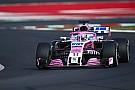 Perez hoopt Force India in 2018 naar podium te brengen