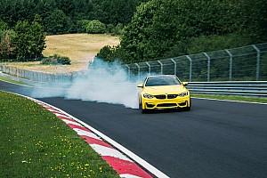 Auto Actualités La BMW M4 CS drifte sur le Nürburgring