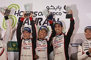 WEC Race report Bahrain WEC: Toyota wins finale, Ferrari gets GTE title