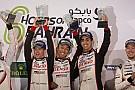 WEC Toyota gana las 6 Horas de Bahrein