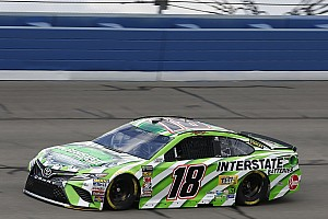 NASCAR Cup Practice report Kyle Busch tops final practice at Fontana