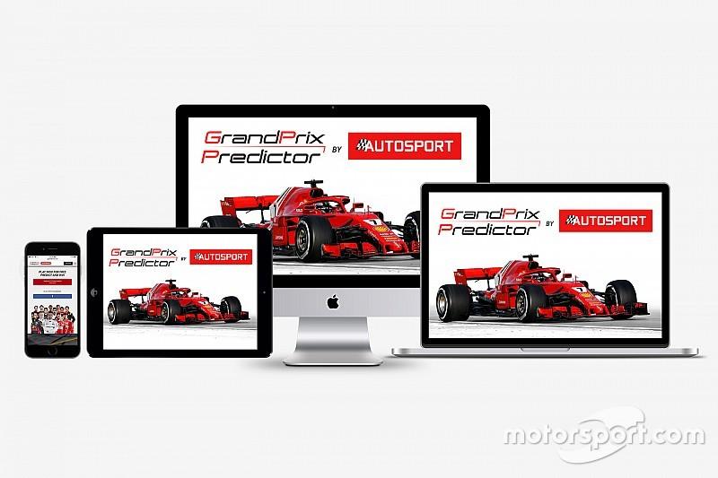 Grand Prix Predictor, 2018 F1 tahmin oyunu başlıyor