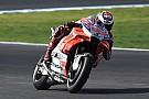 Ducati'nin yeni parçaları Lorenzo'yu mutlu ediyor
