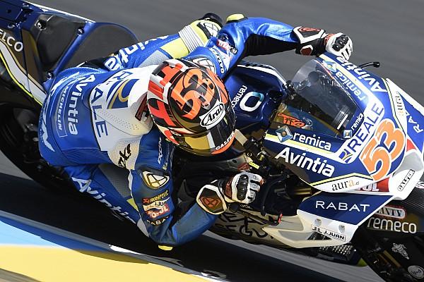 MotoGP Noticias Rabat fue trasladado al hospital tras un accidente en Barcelona