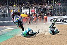 Irrer Save: Moto3-Pilot Kornfeil rettet sich mit Sprung