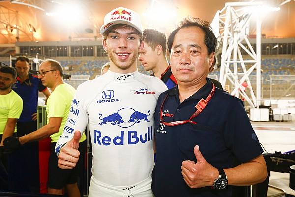 Alonso-Joke: Gasly wollte Honda nur Respekt erweisen
