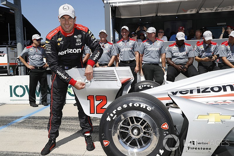 IndyCar: Will Power marca a pole-position para GP de Iowa