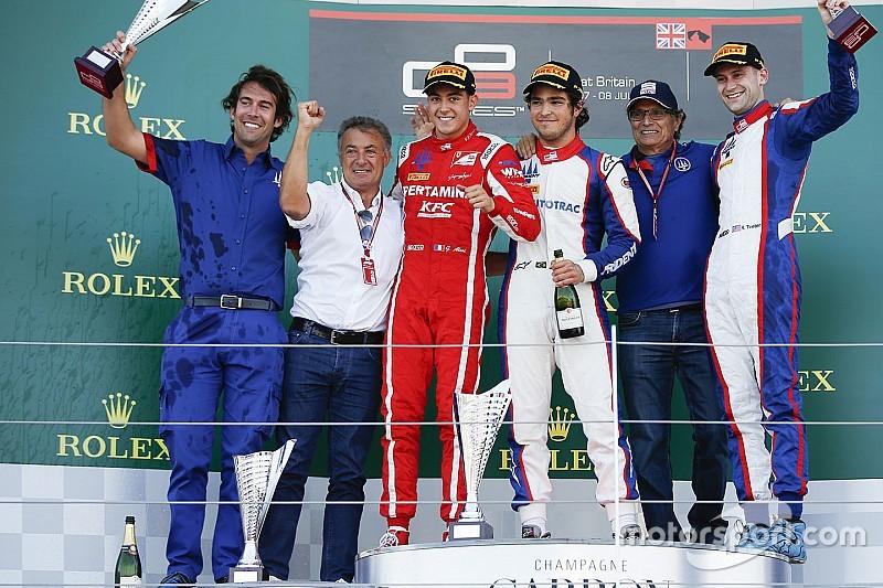Silverstone GP3: Piquet leads all-Trident podium
