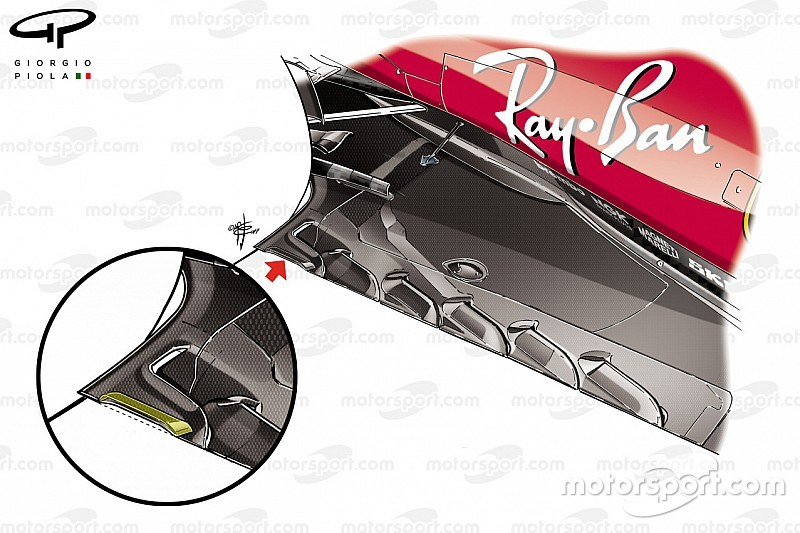 F1-Technik: Neuerungen bei Ferrari und Mercedes beim GP Belgien in Spa