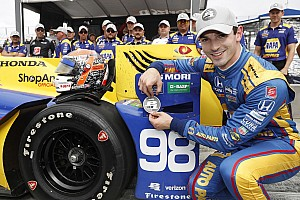 IndyCar Últimas notícias Na última volta, Rossi toma pole de Dixon em Watkins Glen
