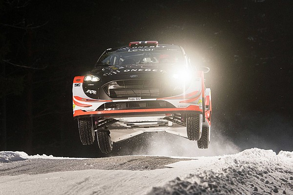 WRC Ostberg tops Rally Sweden shakedown on WRC comeback