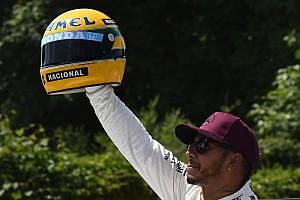 Formule 1 Statistiques Stats - Hamilton dans les roues de Senna et Schumacher