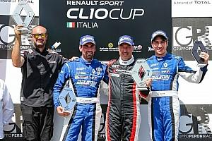 Clio Cup Italia Gara Gara 3: Massimiliano Pedalà si ripete e centra la tripletta a Brno