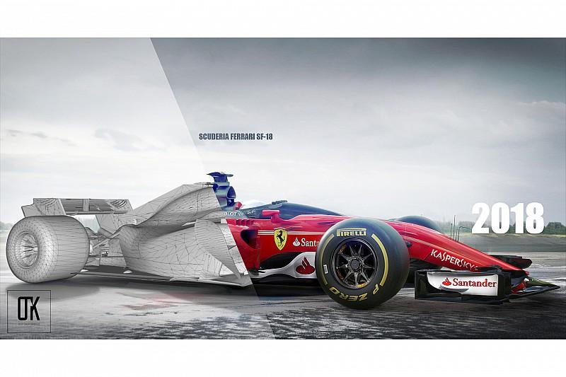 Ferrari şimdiden 2018 çalışmalarına başladı