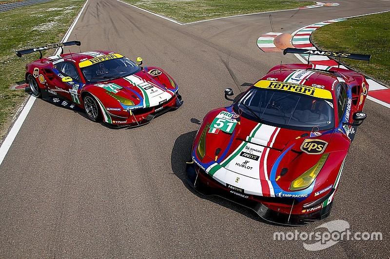 Ferrari vuelve a los colores de 1947 para el WEC 2017
