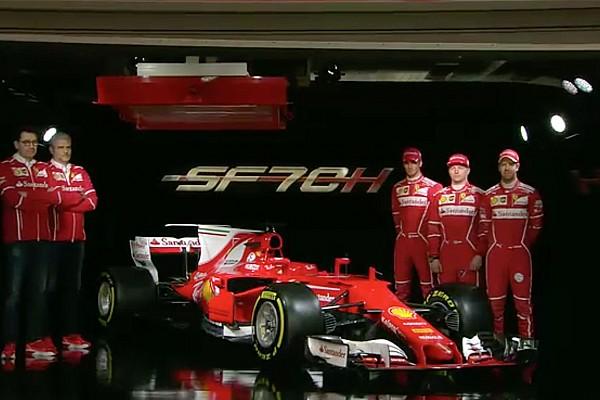 F1 Noticias de última hora Ferrari presenta el SF70-H con el que espera volver a las victorias