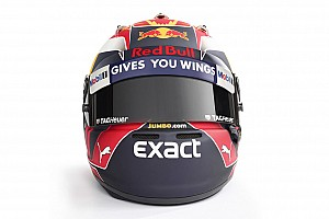 Max Verstappen onthult helm voor Formule 1-seizoen 2017