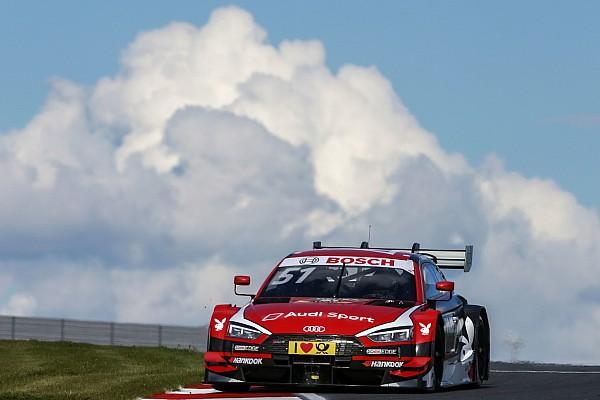 DTM Mercedes en BMW boos over strategie Audi-coureur Müller