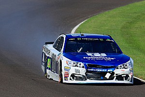 NASCAR Cup Breaking news Earnhardt hopes for better luck after wrecking out at Indianapolis