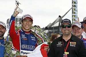 IndyCar BRÉKING Sato 12 éves kora óta álmodott erről a fantasztikus győzelemről
