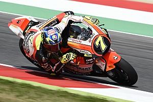 Moto2 Actualités Violente chute de Baldassarri, drapeau rouge en Moto2