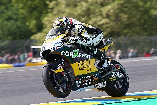 Thomas Luthi batte Bagnaia di un soffio ed è in pole a Le Mans