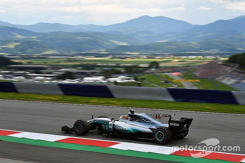 GP Austria: Hamilton ungguli Vettel di latihan kedua