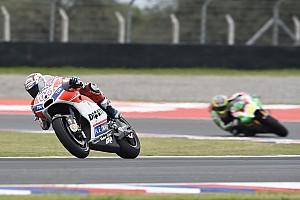 MotoGP Breaking news Dovizioso blames Petrucci, not Espargaro, for crash