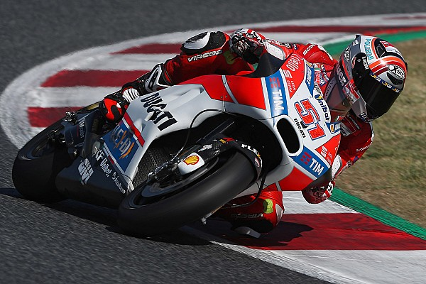 Michele Pirro al Mugello con la terza Ducati ufficiale in MotoGP