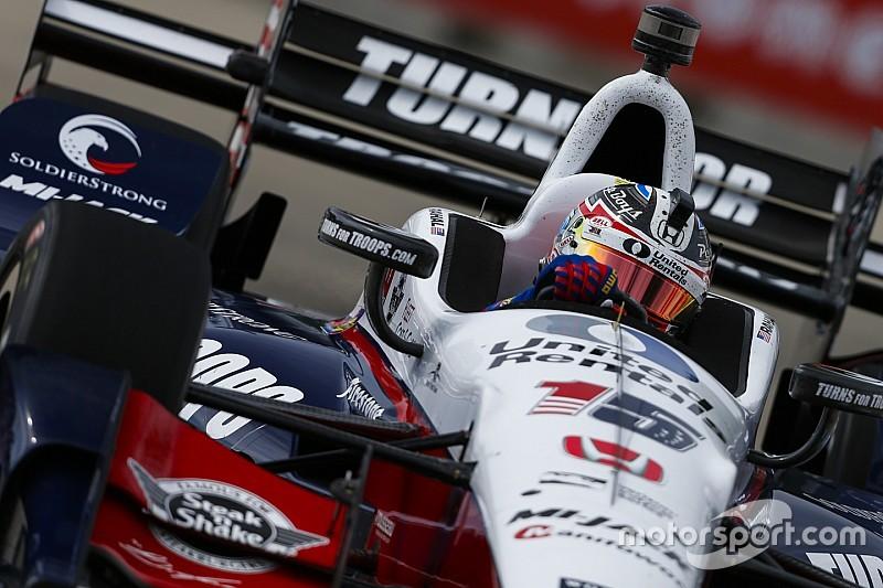 Видео: трасса в Детройте глазами гонщика IndyCar