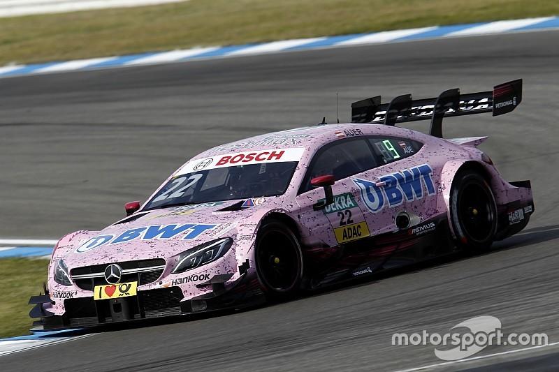 Ауэр выиграл первую гонку сезона DTM