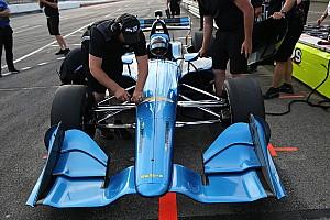 IndyCar Breaking news Montoya dan Servia terkesan dengan setelan oval-pendek IndyCar 2018