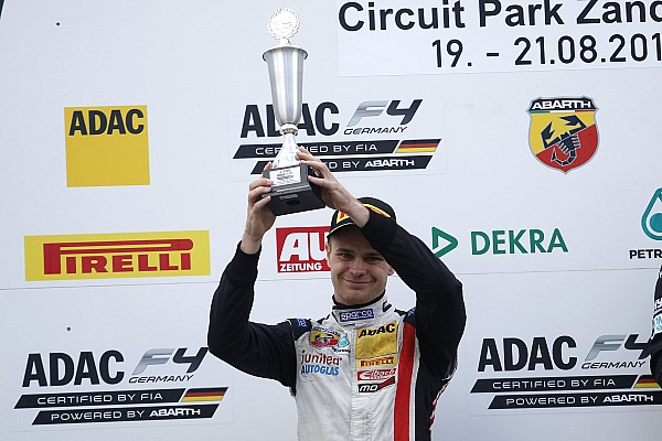 Новичок из ЮАР пополнил список участников Формулы 3