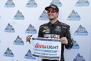 NASCAR Cup Qualifying report Truex takes Pocono pole over Edwards