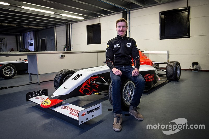 Jarno Opmeer maakt overstap naar Formule 4