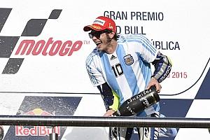 Россі готується до Гран Прі Аргентини