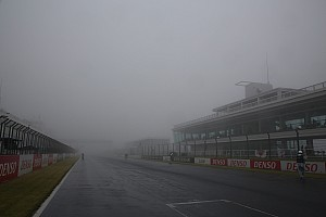 スーパーフォーミュラ 速報ニュース 決勝レース中止に、JRP倉下社長「天候回復の見通しが立たなかった」
