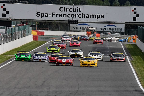 Ferrari Gara Challenge Europe: a Spa vincono Merckx, Froggatt, Cheung e Nussbaumer