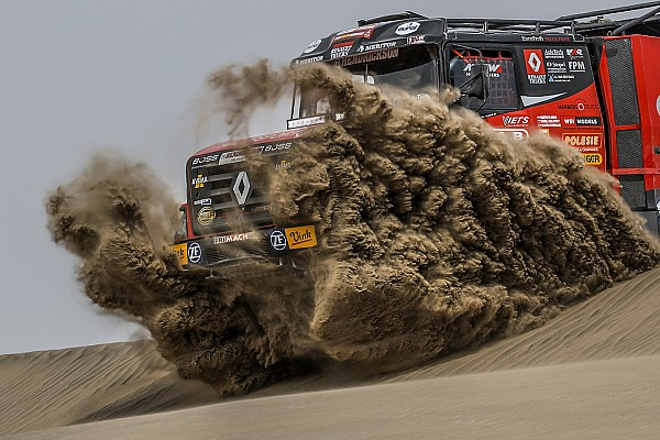 Fotogallery: le insidiose dune della quarta tappa della Dakar 2018