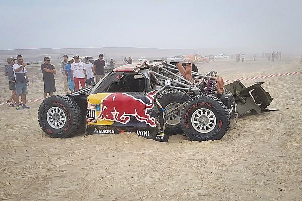 Menzies accepts blame for massive Dakar shunt