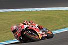 Márquez arrancó el sábado adelante; Dovizioso y Viñales van a la Q1