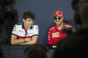Vettel verwacht geen problemen op de baan met Leclerc