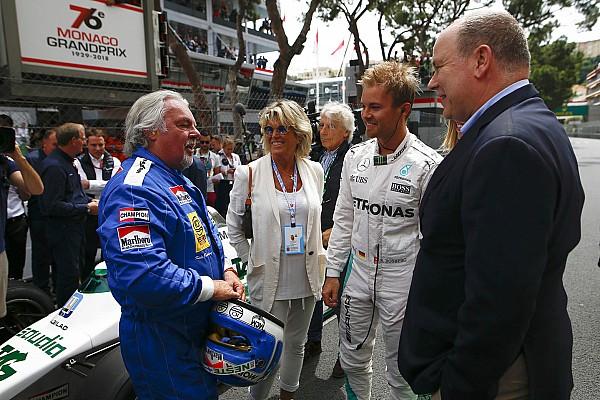 Fórmula 1 Últimas notícias Nico Rosberg diz que foi difícil levar pai de volta à pista
