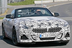 Automotive Breaking news New BMW Z4 caught undergoing final testing at the Nurburgring